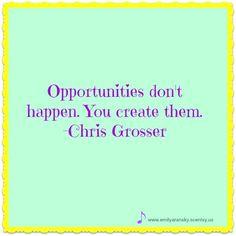 Create your own opportunities. #keepyourheadup #opportunity #bosslady #lookforward #entrepreneurlife #ssgu #unicorns #seethefuture