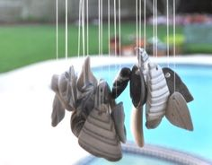 Making Wind Chimes from Shells, Beach Glass