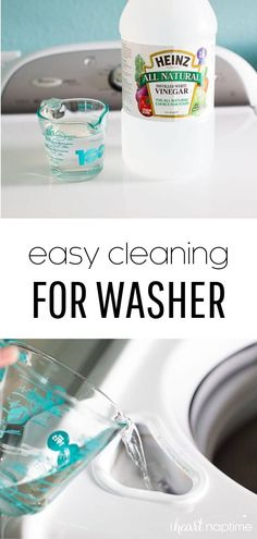 Here is the easiest way to clean your washer …all it takes is ONE ingredient and a few minutes to leave your washer smelling squeaky clean. Hacks Diy, Cleaning Hacks, Washing Machine Smell, Washer Smell, Washer Cleaner, Washer Machine, Dawn Dish Soap, Hard Water Stains, Laundry Hacks