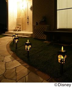 Disney Tinkerbell Mickey minnie Pooh Silhouette Light Garden Light Solar Light | Home & Garden, Lamps, Lighting & Ceiling Fans, Lamps | eBay!