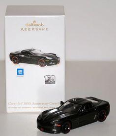 $19.00-$35.90 Chevrolet 100th Anniversary Corvette 2011 Hallmark Keepsake Ornament - This reveal Ornament Compliments the Classic American Cars ornament Series.  Chevrolet 100th Anniversary. http://www.amazon.com/dp/B0055PELW8/?tag=pin2wine-20