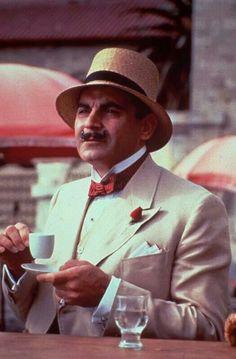 David Suchet as Agatha Christie's Hercule Poirot