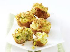 Ham, zucchini and chive muffins, egg recipe, brought to you by Australian Women's Weekly