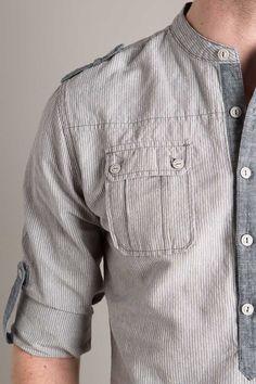 Denim Shirt Men, T Shirt, Casual Shirts For Men, Men Casual, Chemise Fashion, Boys Kurta Design, African Clothing For Men, Designer Clothes For Men, Mode Style