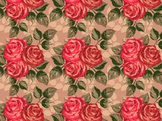 """pack. of roses 15#"" by Jiminari flowers, green, krystalized, pastel, pink, red, roses, vintage, yellow"
