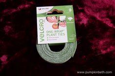Velcro One-Wrap Plant Ties.