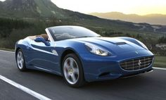 Convertible Ferrari California 2012. Red, blue or yellow, I'd take any of them.