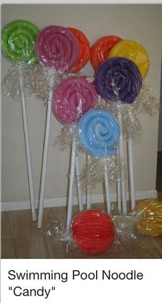 Candy themed bday party