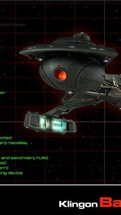Klingon battle cruiser. K'tinga class