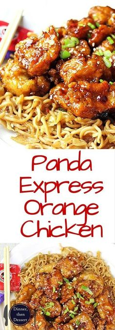 Tender Chicken Thighs fried crisp and tossed in that magical Panda Express Orange Chicken Sauce! This copycat will make you dance a little in your chair as you eat it because it is just right on the m (Orange Chicken Recipe) Asian Recipes, New Recipes, Dinner Recipes, Cooking Recipes, Healthy Recipes, Chinese Recipes, Copycat Recipes, Chinese Desserts