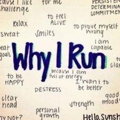 Why I run #marathon