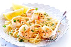 15-Minute Skinny Shrimp Scampi | Gimme Some Oven