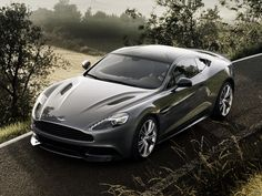 What she would like as her daily driver, one day...aston martin vanquish