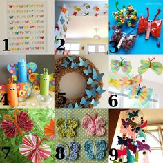 Link Love: Butterfly Crafts for Spring