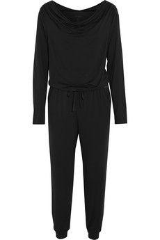 Calvin Klein Underwear Edge stretch-modal jumpsuit | NET-A-PORTER