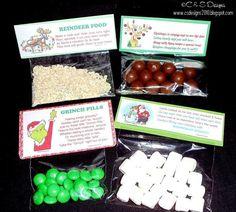 Reindeer Poop, Grinch Pills and Snowman Poop. | Homemade Gifts