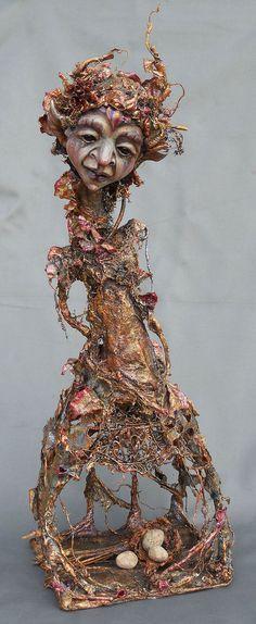 Art Doll Eudora - Spritebites on etsy