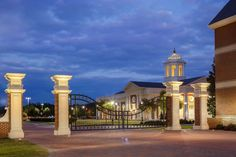 Christopher Newport University Gate | Glave and Holmes Architecture