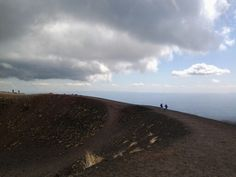 Crater, Etna 1900 mt