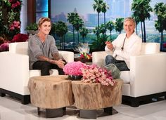 Justin on the Ellen show!❤️