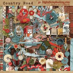 Country Road - August 2017 Monthly Collab Kit