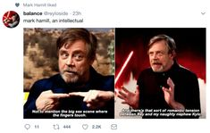 Listen yall haters, if Mark Hamill ships it, then it's real.