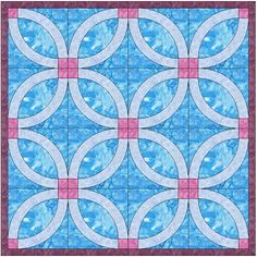 Free Wedding Ring Quilting Pattern