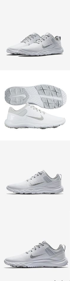Golf Shoes 181147: Nike Fi Impact 2 Womens Golf Shoes Size 7.5 White Silver 776093-001 Spikeless -> BUY IT NOW ONLY: $59.99 on eBay!