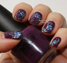 Marias Nail Art and Polish Blog: Flowers for Vedrana