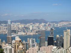 Loved this view on Victoria Harbour from The Peak, Hong Kong. #FriFotos