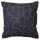 Radiant Exports Navy Decorative Circles Pillow