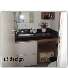 Banheiros pequenos, aconchegantes e funcionAl Venha fazer o seu projeto de acordo com sua necessidade. 55 84 999420570  Luiza Feitosa-designer de interiores