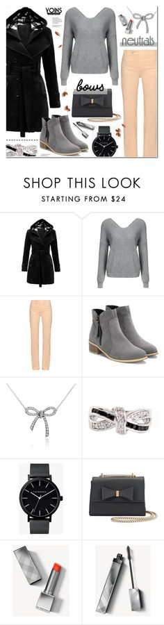 """""""Cool Neutrals - Yoins - 6"""" by anyasdesigns ❤ liked on Polyvore featuring See by Chloé, Tiffany & Co., NEXTE Jewelry, The Horse and Burberry"""
