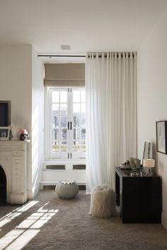 Kelly Hoppen London Home  Images: Jordi Canosa......sheer curtain