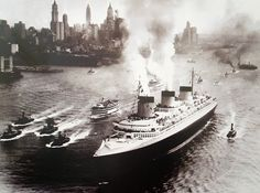 The 'Normandie', the most beautiful ocean liner ever