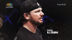 Is it possible that WWE dropped a hint of AJ Styles being at the Royal Rumble on…
