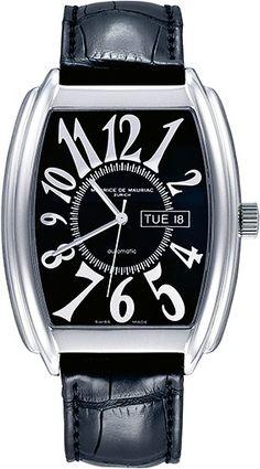62f186451aa Tonneau Chronograph Automatic Watch from Maurice de Mauriac. swiss watches