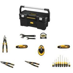 DEWALT Hand Tool Combo Kit with Tote (20-Piece)-DWHTCMBK3 at The Home Depot, $169