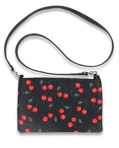 Liquor Brand CHERRIES ART Sling Bags-Purse/Taschen