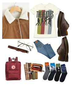 """""""Untitled #40"""" by trash4fashion on Polyvore featuring Levi's, Fjällräven, Hollister Co., Dr. Martens and Sony"""
