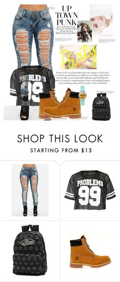 """J Style"" by stewartj1 on Polyvore featuring Vans and Timberland"