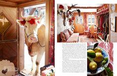 Michelle Nussbaumer's Dreamy Swiss Chalet | The English Room