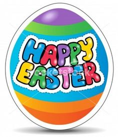File # 11087164 Happy Easter sign theme image 1 - vector illustration.  © clairev / Pocketstock.com