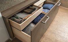 Drawer within a drawer by #WoodMode.
