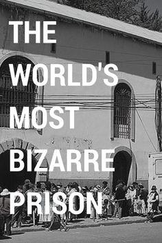 Located only meters away from the tranquil Plaza San Pedro, lies one of the word's most notorious and corrupt institutions, San Pedro Prison ---> www.lapazlife.com... #travelbolivia