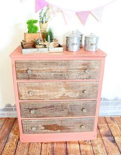 Decoupage Napkin Dresser