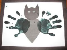 keepsake craft - go in early to get the handprints so they can be drying, have the white and black frame glued ahead