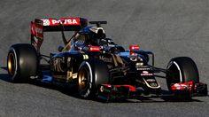 Lotus F1 Racing's: Romain Grosjean