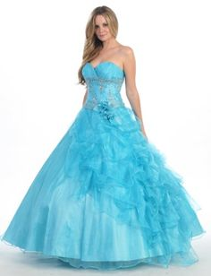 Ball Gown Formal Prom Strapless 2 in 1 Designer « Dress Adds Everyday