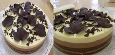 Gâteau aux 3 chocolats avec Thermomix, un gâteau très délicieux et c'est facile et simple à réaliser avec votre thermomix.